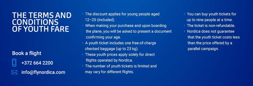 youth discount conditions